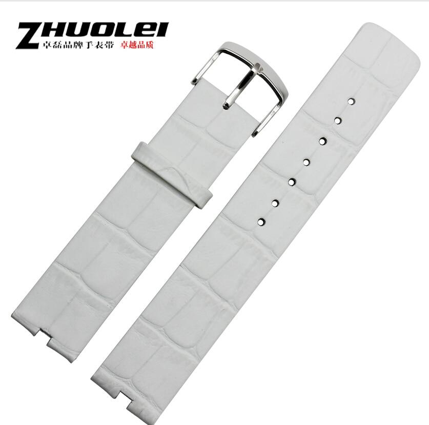 Hot 2015 New arrvial 22mm White Alligator pattern 100% Genuine Leather Watch Strap BANDS For Motorola Moto 360 Smart Watch<br><br>Aliexpress