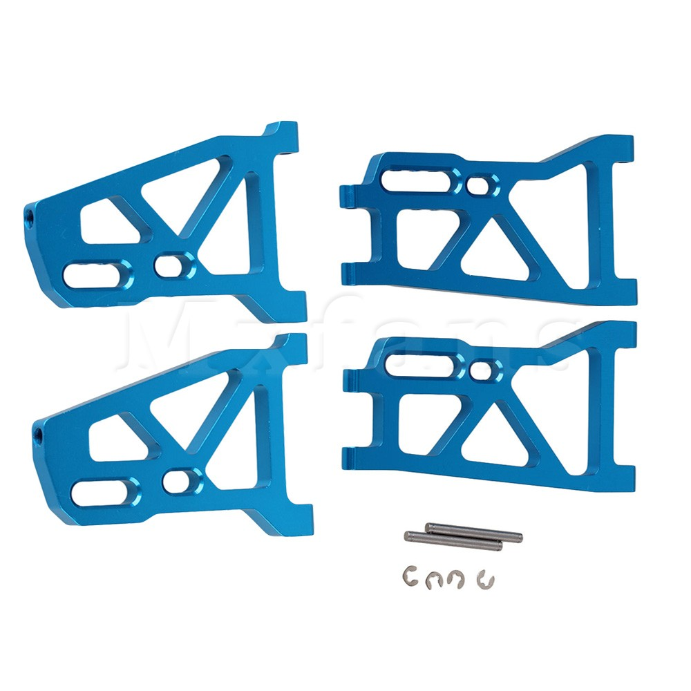 Mxfans 2x Alloy 513007 513008 Front&amp;Rear Lower Suspension Arm for FS RC1:10 Truck<br><br>Aliexpress