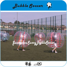 Free Shipping TPU Inflatable Body Zorb Ball Bumper Ball Soccer Bubble Wholesale Factory Price(China)