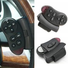 New Steering Wheel Universal IR Remote Control Fr GPS Car CD DVD TV MP3 Player