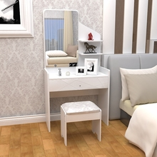 Dresser simple modern white paint large-sized apartment bedroom dresser dresser dressing cabinet fashion Garden(China)