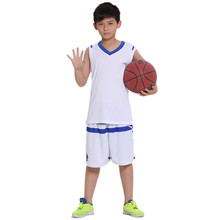 2017Children's sportswear Set breathable shirt & shorts basketball jersey Clothing set Kid Boys students Basketball Clothes Suit