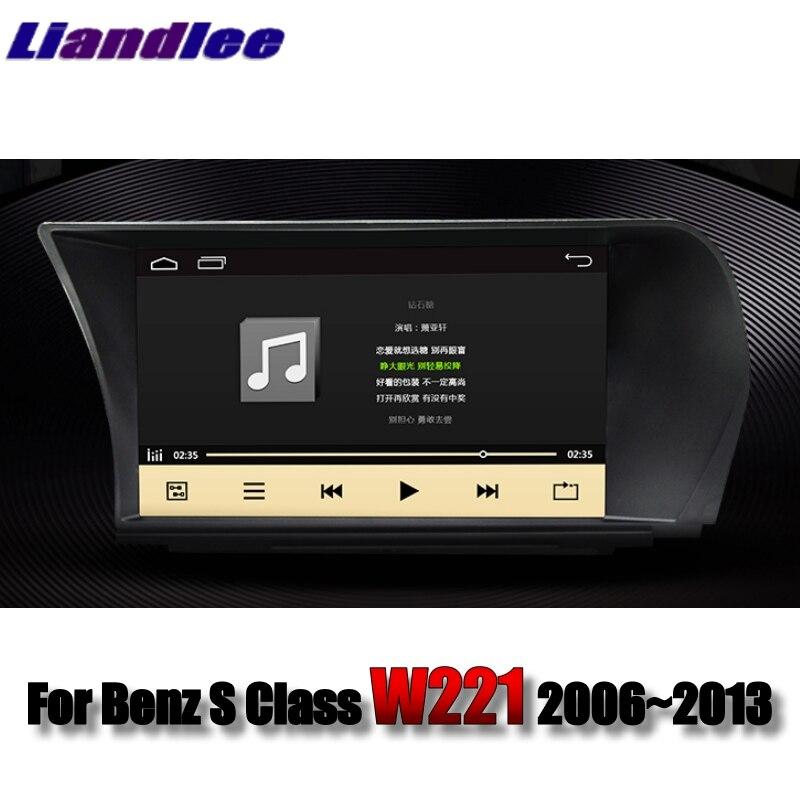 Liandlee Car Multimedia Player NAVI For Mercedes Benz S W221 S280 S300L S320 S400 S600 S63 2006~2013 Radio Stereo GPS Navigation 1 3
