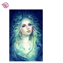 ANGEL'S HAND  sea anna DIY 5D Diamond Painting Cross Stitch Square Mosaic Diamond Embroidery Needlework Patterns Rhinestone Pain
