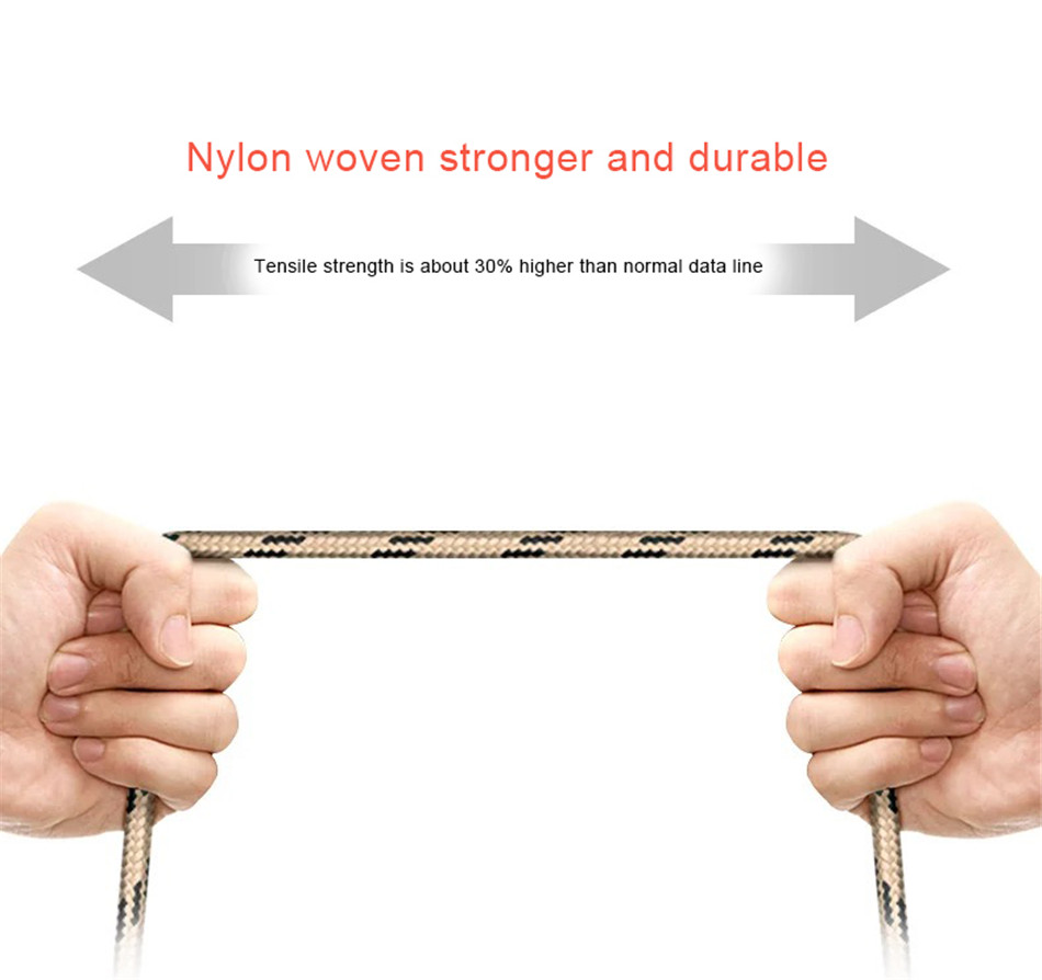 NOHON Nylon Charging Sync Cable Micro USB For Samsung Galaxy S7 S6 For Huawei For Xiaomi Redmi Android Phone Fast Charger Cord (6)