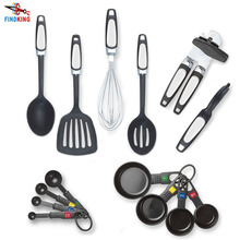 FINDKING 14 Piece Kitchen Tools Gadget Set included Slotted Turner Spoon Can Opener Peeler Whisk Measuring cups Measuring Spoons(China)