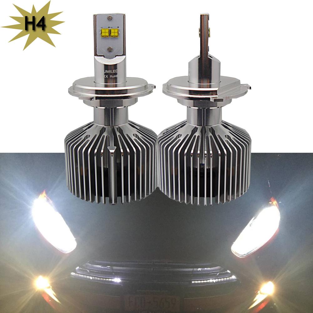 Auto led H4 9003 LED Car Headlight Bulbs High Power 45W 4500LM Auto Hi/lo High Low White 6000K Repalcement Bi xenon lamps<br><br>Aliexpress