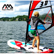 sailboard surf board AQUA MARINA CHAMPION Stand up paddle board boat Inflatable Sup Surfboard windsurf sail board whole set bag