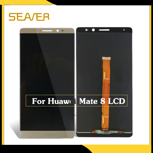 China mobile phone spare parts for Huawei Mate 8 lcd replacement display touch screen <br>