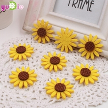 20PCS foam head artificial simulation of high-quality chrysanthemum wedding party decorations DIY wreaths artificial sunflowers