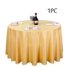 Wholesale 1PC Jacquard  Square Table Cloth White Linen Tablecloth for Marriage Event Party decoration Home Textile Table Covers