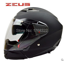 Free Shipping Full Face Urban racing motorcycle helmet, full face open face helmet, mutil-function, dual lens. Safe DOT ZEUS 611