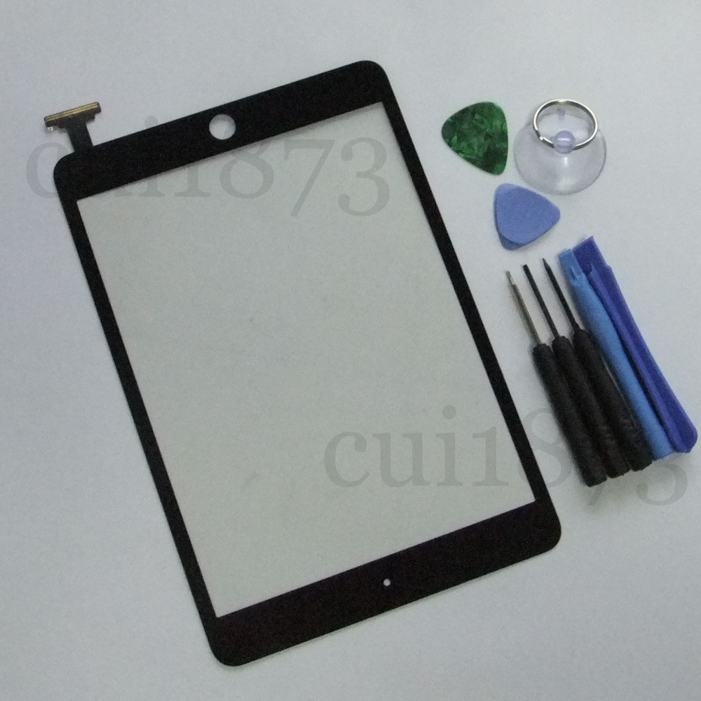 Best price Replacement Digitizer Touch Screen Replacement Glass for iPad mini BLACK+free Tools<br><br>Aliexpress