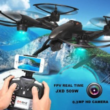 Buy RC Drone 509W Professional Quadcopters Camera 2.4G 6-Axis 4CH Helicopter Headless Selfie Drone Camera Real Time Video Toy for $80.00 in AliExpress store
