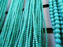 Turquoise  Hot Sale Approx 39cm/strand Natural Green  Stone Beads 4/6/8MM Pick Size For Jewelry DIY Bracelet Necklace