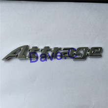 Forten Kingdom Word Attrage Car ABS Best Chrome Silver Custom Trunk Emblem 3D Letter Sticker Nameplate Auto Badge Logo Decal