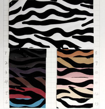 Flocking zebra leather/ high quality synthetic PU leather/ for Bags, gloves, shoes, harness, furniture/ good price(China)
