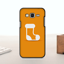 Luxury High-end phone Accessories For  J5 2015 case  Christmas Sock Minimal Gift