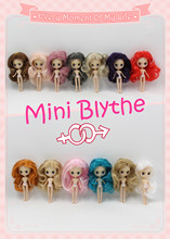 Free shipping Nude Blyth Doll Mini Blyth many kinds of style for choosing Suitable For DIY Change Toy Factory Blyth(China)