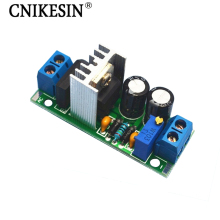 CNIKESIN DIY LM317 Adjustable module Adjustable regulated power supply board With rectifier ac/dc input LM317 Module