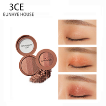 3CE EUNHYE HOUSE Brand Makeup Long-lasting Waterproof Eye Shadow Shimmer red wine Shimmer Pearl earth Matte pumpkin 3 Color in 1(China)