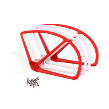 New 4pieces DJI Phantom 2 Vision Quadcopter Propeller Pro Protective Protector Guard Bumper White Free Shipping  can mix color
