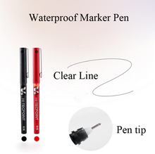 5Pcs Eyebrow Marker Pen Skin Tattoo Microblading Pen Quality Waterproof Skin Marker Pen For Embroidery Eyebrow Makeup Tools(China)