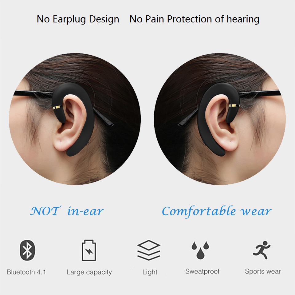 CBAOOO X1 Cordless headphones wireless Bluetooth earphones waterproof Bluetooth earbuds stereo sports headset FOR XIAOMI phone (5)