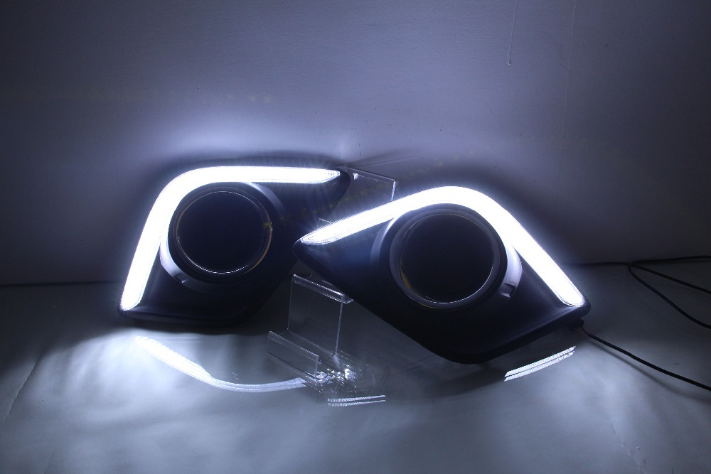 New arrival LED DRL Daytime running light for REVO VTGO top quality with turn signals<br><br>Aliexpress