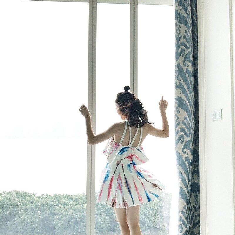 Bikini Girl Swimwear Women One Piece Sexy Plus Size Bikinis One-Piece Swimsuit 2017 Big Korean Skirt With Traje De Bano Mujer<br>