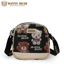 DANNY BEAR Kawaii Women Mini Messenger Bags Black Lolita Style Female Crossbody Bag Name Brand Designers Cross Body Bags bolso(China)
