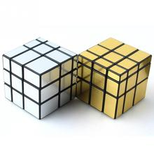 Professional Mirror Magic Cube Puzzle Toys Gifts Cool fidget cube(China)