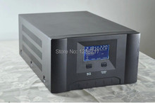 UPS 500W 12/24VDC to 220/110VAC,50/60HZ Solar Grid off Inverter with Pure sine Wave low Frequency Converter with LCD Display(China)