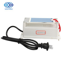 Ozonizer 3.5g Portable Ozone Generator Sterilizer Alternator 220v Air Cleaner Ozone Ceramic Plates with US Plug