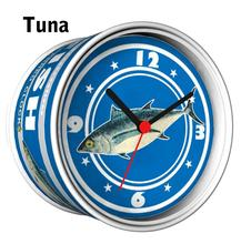 [In Stock] Tuna Magnetic Cheap Wall Clocks,Cheap Desk Clocks,Cheap Table Function Clocks in Free Shipping 2pcs Pack Design Mix(China)