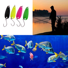 4pcs/Set Fishing Lures Artificial Bait Metal Spoon Crankbait Hard Bait, Wobblers,Freshwater Fish Lure Fishing Tackle