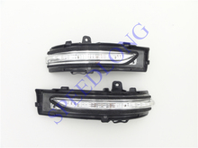 2 Pcs/Pair RH and LH Door side mirror lamp turning light LED For Ford Edge 2015-2016