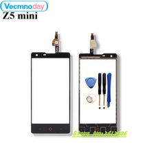 "Vecmnoday High Quality 4.7""For ZTE Nubia Z5 mini NX402 Touch Screen Digitizer Sensor Front Glass Lens panel Free+tools(China)"