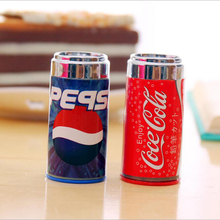 New cute kawaii mini cola style children girl students sharpener Pencil knife makeup for school stationery gift