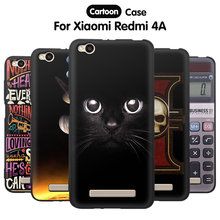 Buy EiiMoo Phone Case Xiaomi Redmi 4A Silicone Case Xiomi Cartoon Soft Tpu Back Cover Xiaomi Redmi 4A Case Housing 16GB 32GB for $2.14 in AliExpress store