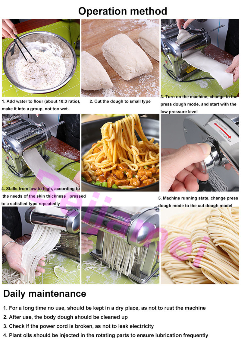 pasta making operation