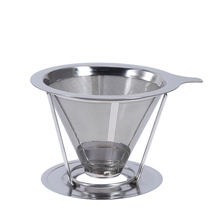 Stainless Steel Coffee Filter Basket Espresso Oolong Green Tea Infuser Cup Drinkware Kitchen Tools(China)