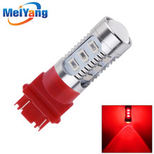 3157 3156 car light Source 12 SMD 5630 5W XPE P27/7W led High Power P27W led car bulbs Brake Lights Red Parking