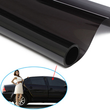 Cars Ultra Limo Black Window Tint Film VLT 1% Auto Car House Roll 50cm*6m DXY88