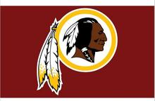 Washington Redskins logo Flag 3FTx5FT Banner 100D Polyester flag 90x150cm