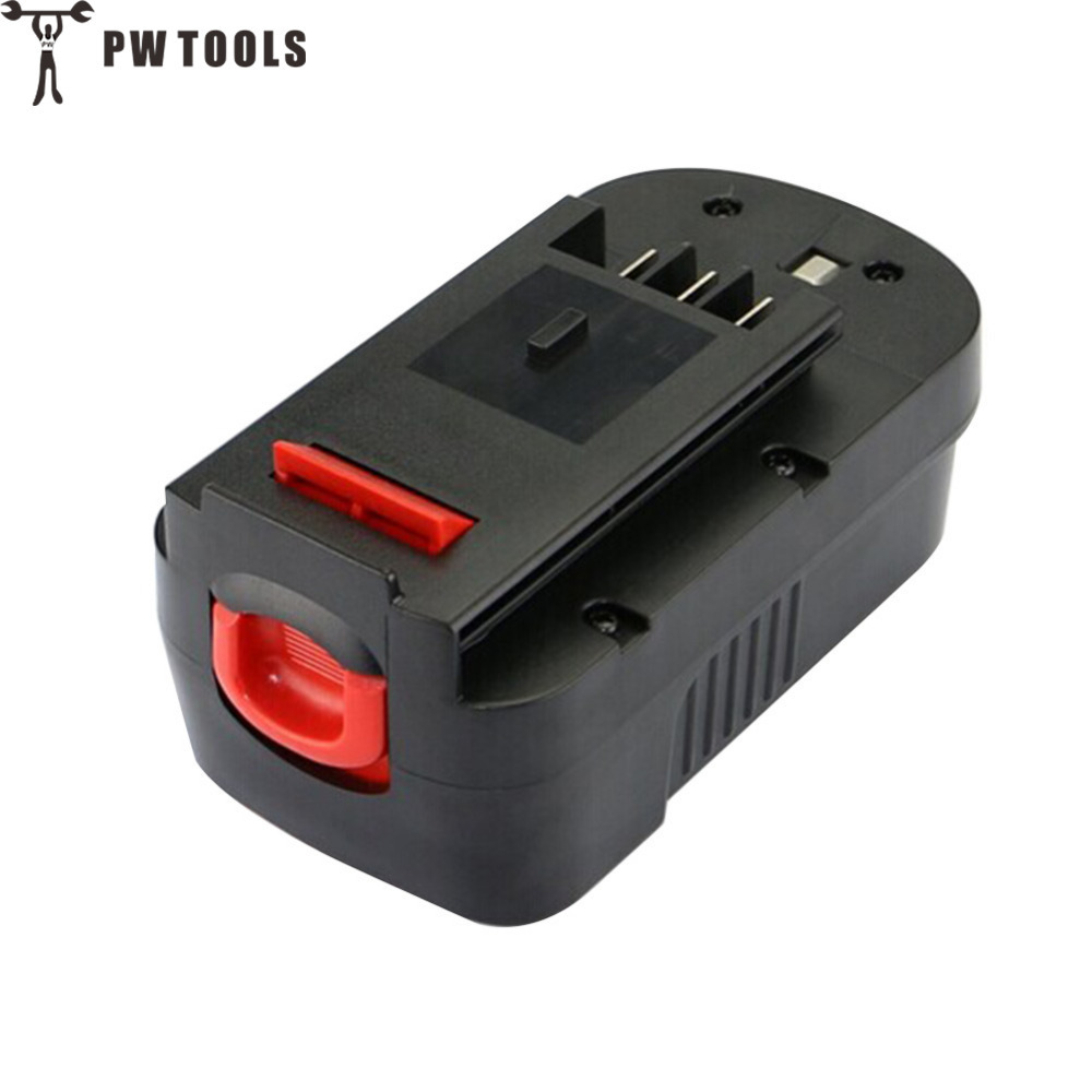 PW TOOL 18V 2000mAh Ni-Cd Battery Rechargeable Large Capacity Long Life Fast Charge Replace Battery for Power Tool Accessories<br>