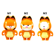 USB Flash Drive 64G Pen Drive 32G Pendrive 16G 8G 4G New Style Hot Sale Garfield Cat Animal Pendrive USB2.0 U Disk Free Shipping