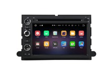 "2G RAM Android6.0 7"" 1024*600 car dvd player for Ford Fusion Explorer F150 Edge Expedition 2006-2009 with mirror link ROM 32G"
