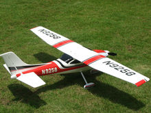 No Battery, RC Hover Plane Cessna 182 epo RTF +adaptor + EPP Mini Hawk Sky