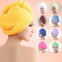 free shipping Microfiber Bath Towel Hair Dry Hat Cap Quick Drying Lady Bath Tool New Suzie Super absorbent towel